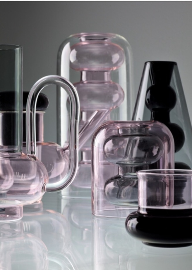 Bump Glass Vessels